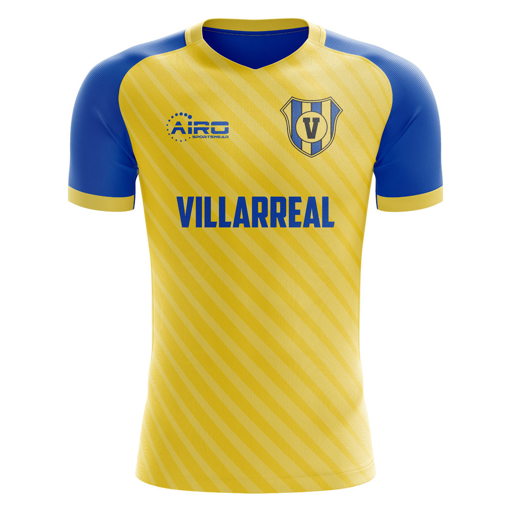 17d488e67e5 Villarreal 2019-2020 Home Concept Shirt [VILLARREALH] - $76.02 Teamzo.com