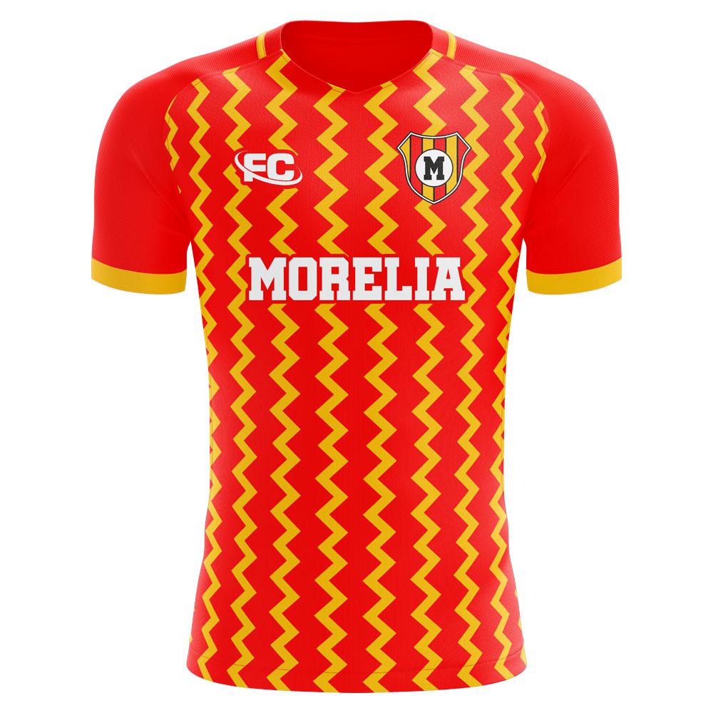 eb9bc9ecb50 Monarcas Morelia 2018-2019 Home Concept Shirt [MORELIAHFC] - $76.32  Teamzo.com