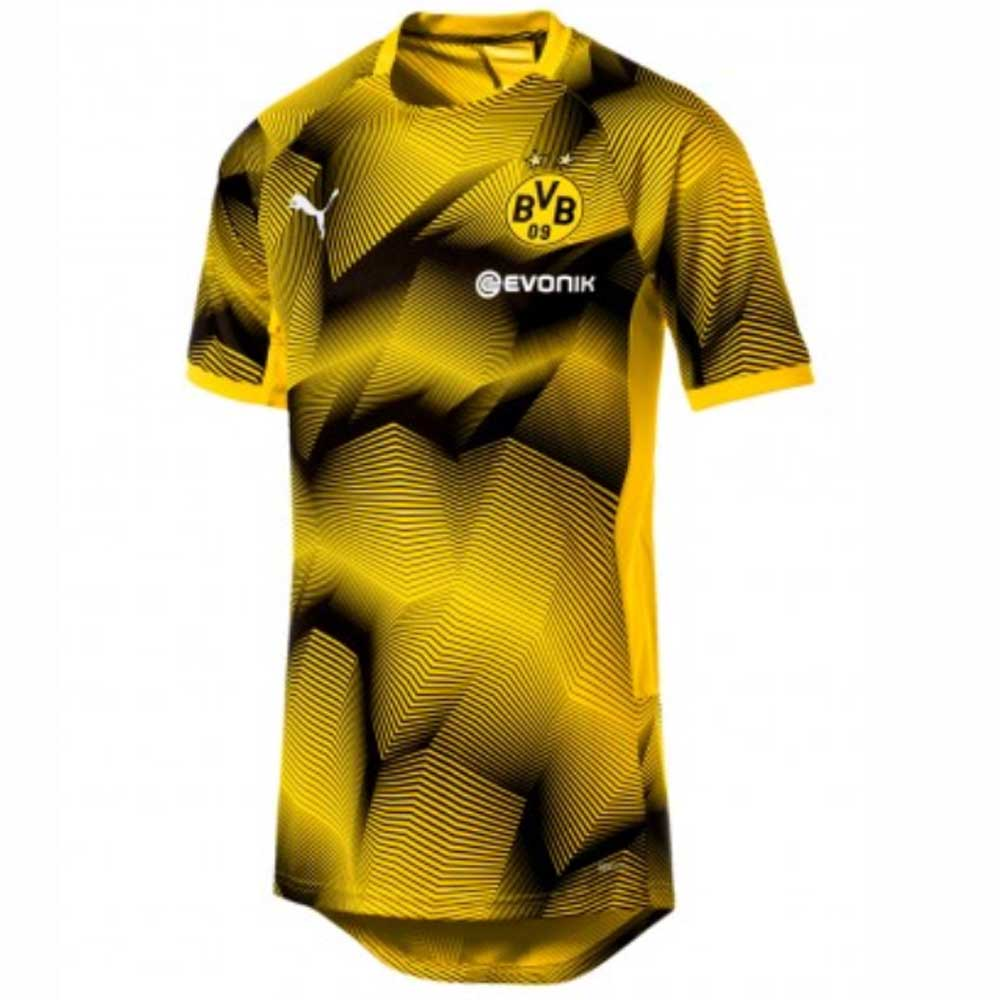 sneakers for cheap fc7cf 66b1b Borussia Dortmund 2018-2019 Graphic Jersey (Yellow)