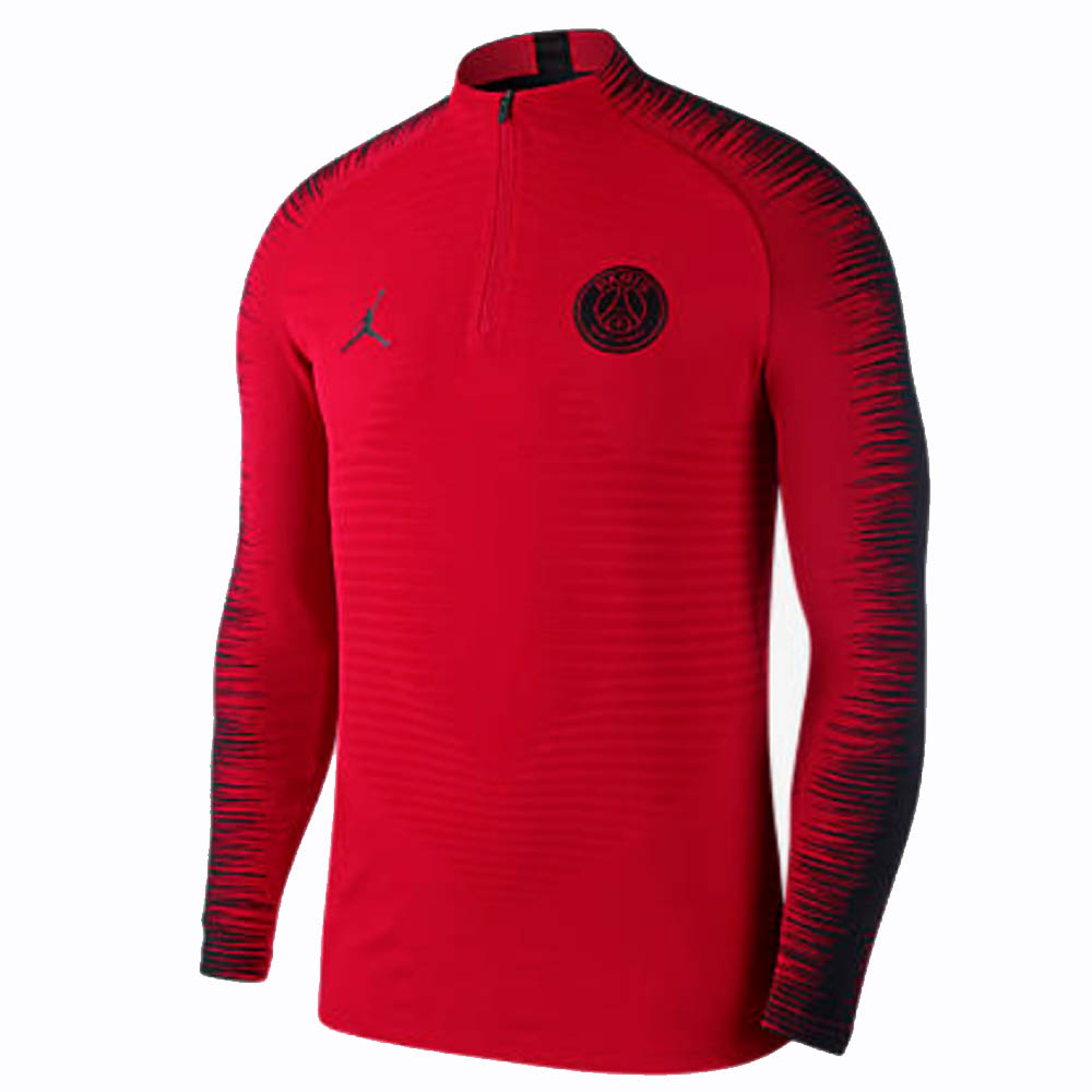 quality design ac507 ebf1d PSG 2018-2019 Long Sleeve Football Top (Red)