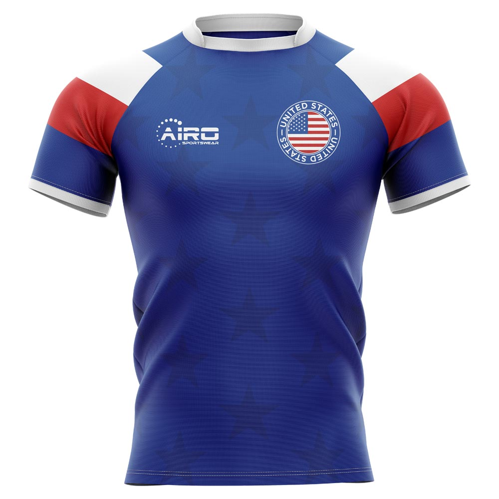 4d6116b55a1 United States USA 2019-2020 Home Concept Rugby Shirt [USARUGBYHOME1920] -  €78.62 Teamzo.com