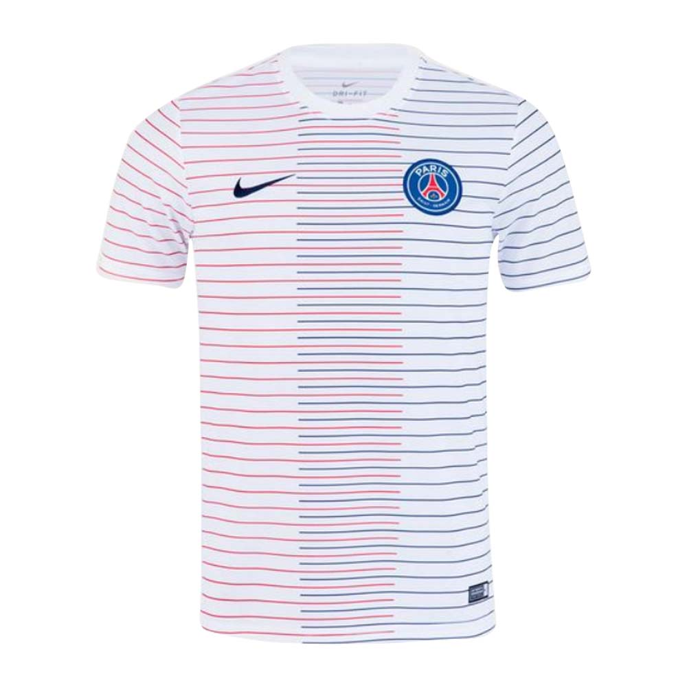 best sneakers bacf1 393f1 PSG 2019-2020 Pre-Match Training Shirt (White)