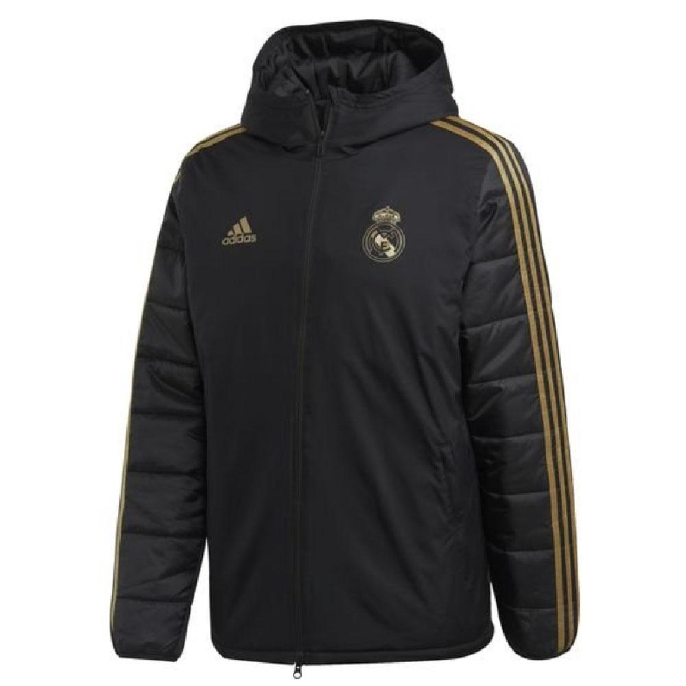 Real Madrid 2019 2020 Winter Jacket (Black)