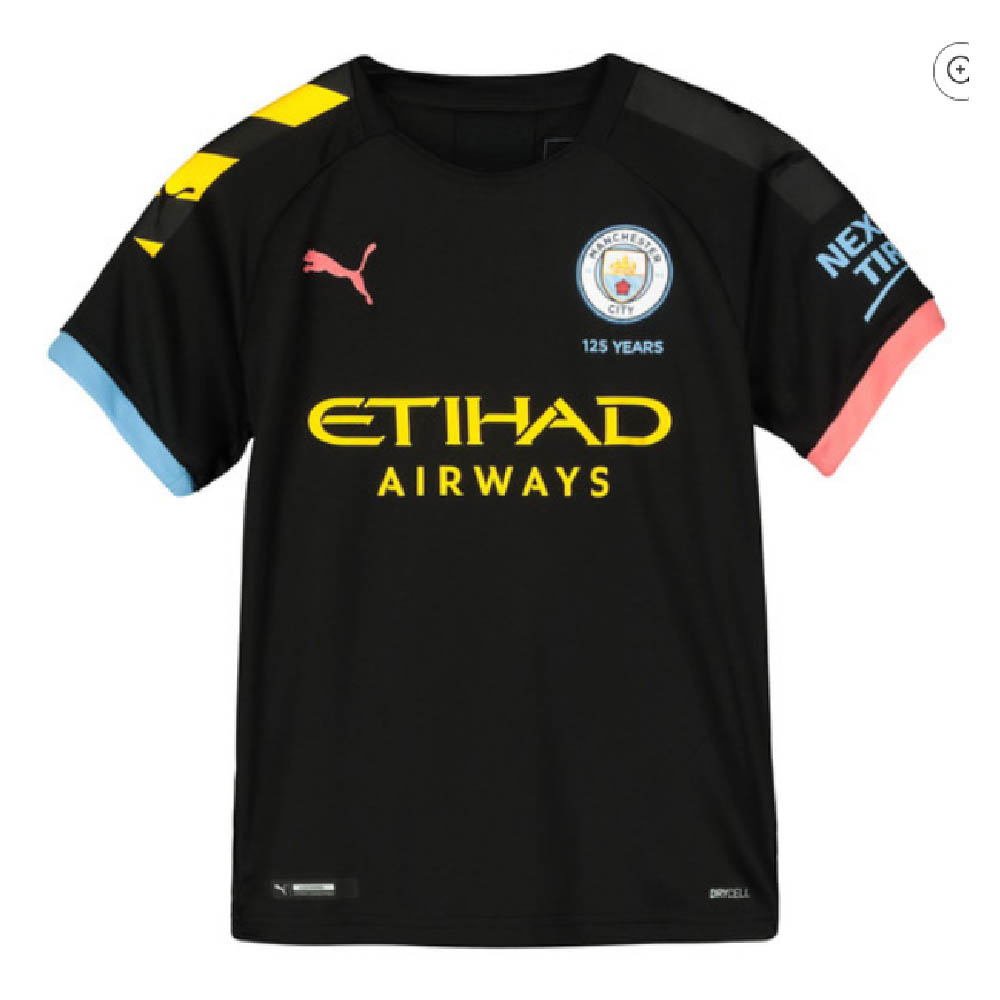 Manchester City 2019-2020 Away Football Shirt (Kids)