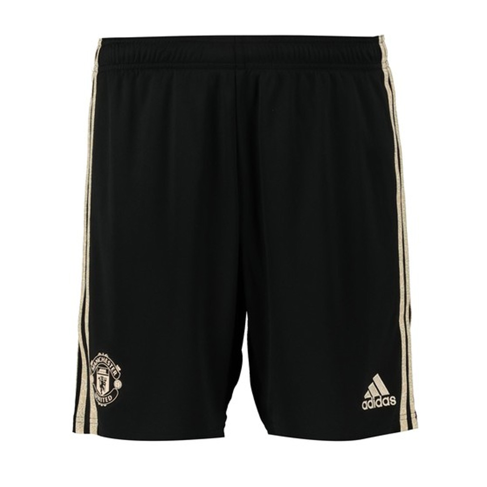 Man Utd 2019-2020 Away Shorts (Black)