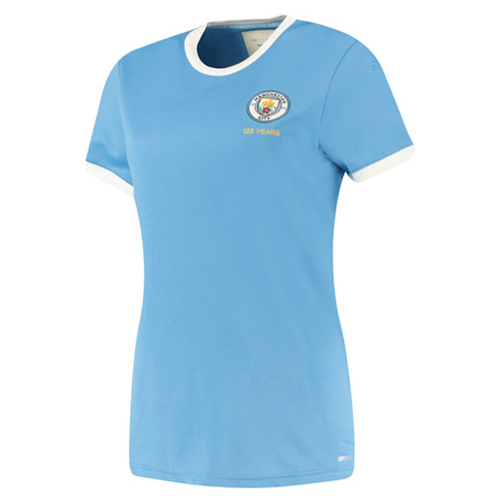 Manchester City 2019-2020 125th Anniversary Ladies Shirt