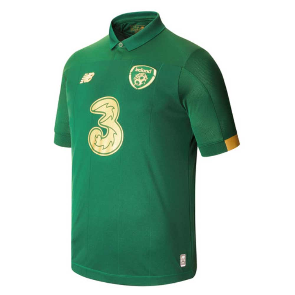 Ireland 2020-2021 New Balance Home Shirt