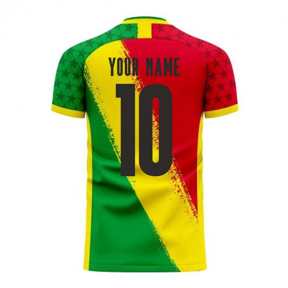 Ghana 2020-2021 Away Concept Football Kit (Libero) (Your Name)
