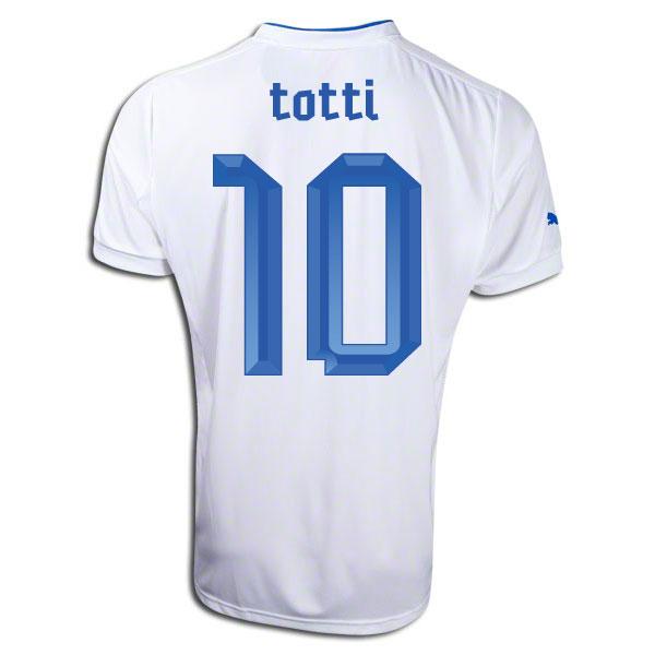 483db13b9 Italy 12-13 Away Shirt (Totti 10)  74035702-22899  -  76.08 Teamzo.com