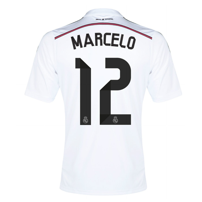 d20aa77236b Real Madrid 14-15 Home Shirt (Marcelo 12)  F50637-44890  -  91.10 ...