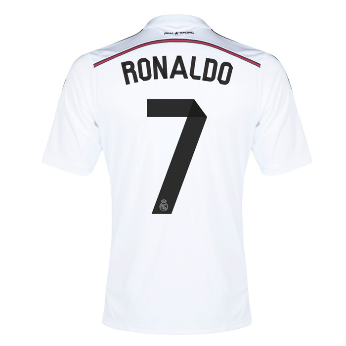 Real Madrid 14-15 Home Shirt (Ronaldo 7) - Kids  F49664-44897 ... 941aa6513