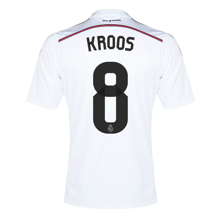 165713169 Real Madrid 14-15 Home Shirt (Kroos 8)  F50637-45865  -  38.52 ...