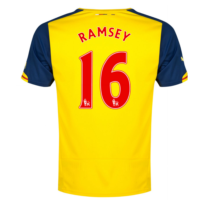 separation shoes 56ab6 a78c5 Arsenal 14-15 Away Shirt (Ramsey 16)