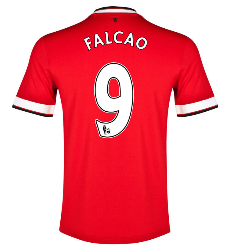 6ec4a5710 Manchester United 14-15 Home Shirt (Falcao 9) - Kids  611040-624 ...