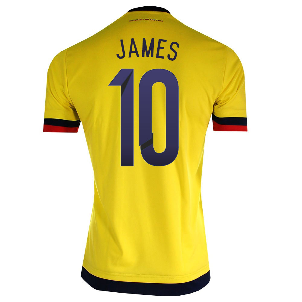 fd511bfb1 2015-2016 Colombia Adidas Home Shirt (James 10)  M62788-59040 ...