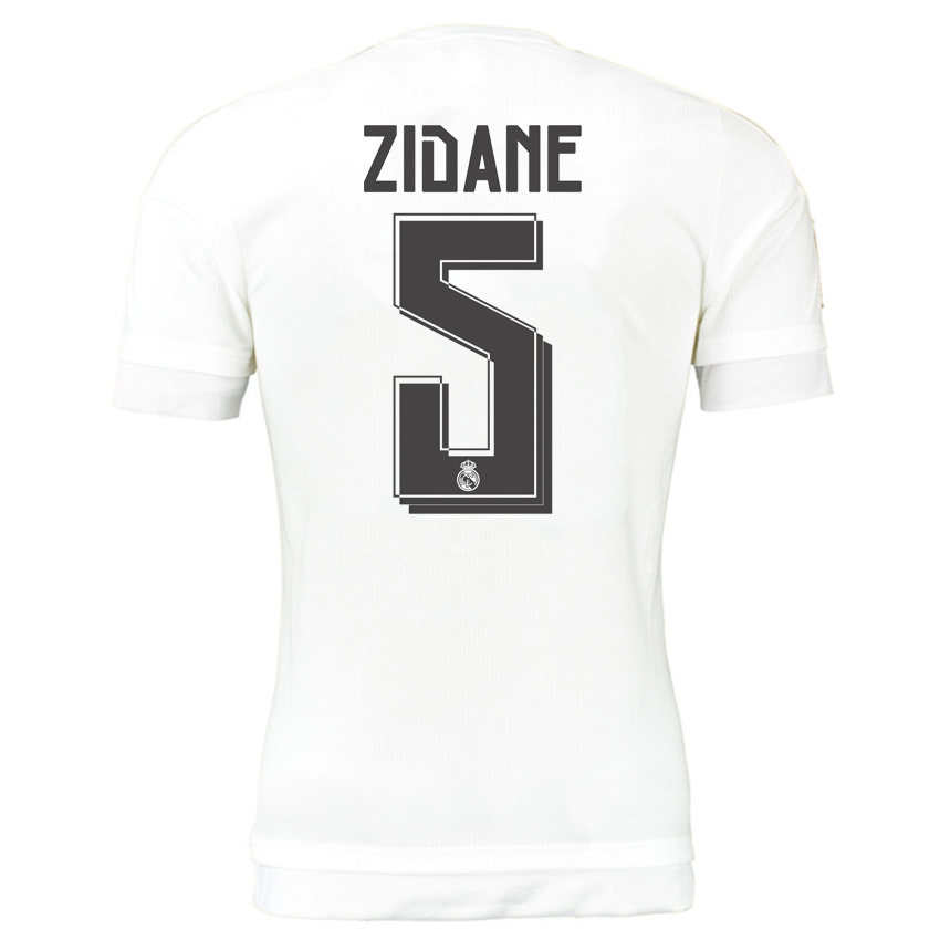d50fb13ae Real Madrid 15-16 Home Shirt (Zidane 5)  S12652-63170  -  73.24 ...
