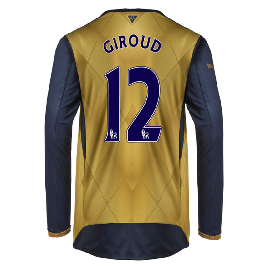 ee79fd8657c Arsenal 15-16 Long Sleeve Away Shirt (Giroud 12) - Kids  74757608 ...