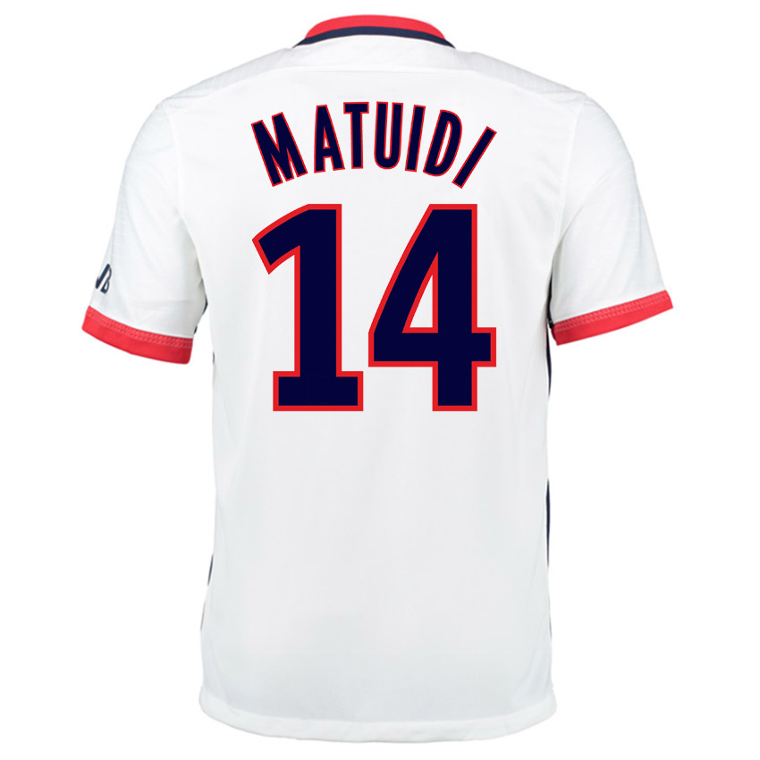 PSG 15-16 Nike Away Shirt (Matuidi 14)  658898-106-65825  -  84.51 ... 8b84af0e3