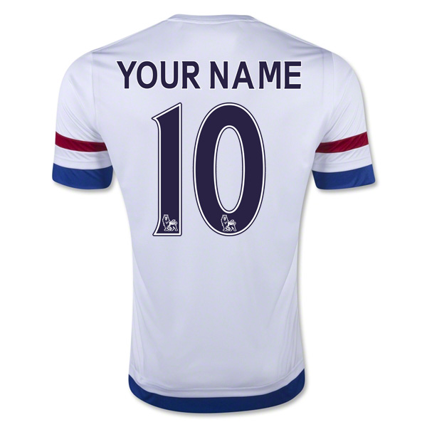 sale retailer e4684 a63f4 2015-2016 Chelsea Away Shirt (Your Name)