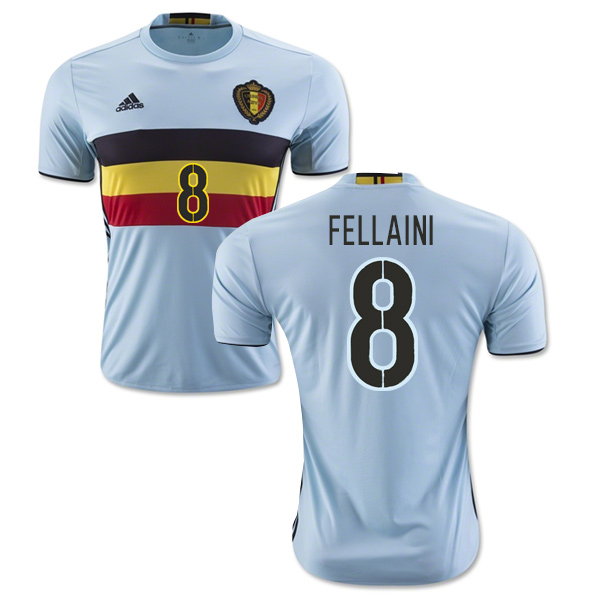 5b2f50a20 Belgium 2016-2017 Away Shirt (Fellaini 8)  AA8736-70684  -  70.11 ...