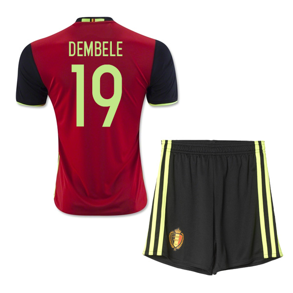 4320377c5 belgium 19 mousa dembele red home long sleeves 2016 2017 country ...