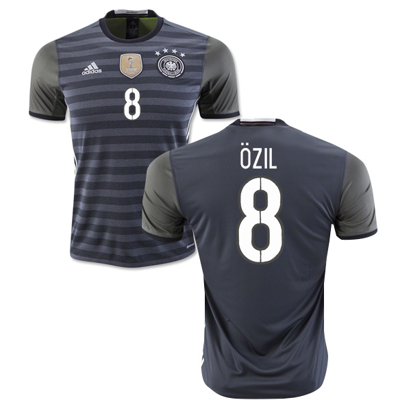 on sale 9618e 200cb 2016-2017 Germany Away Shirt (Ozil 8)