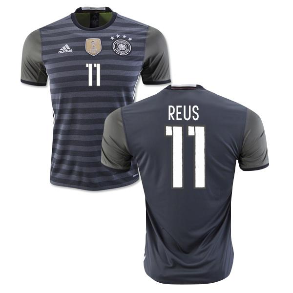 best deals on d0bc9 8ad7a 2016-2017 Germany Away Shirt (Reus 11)