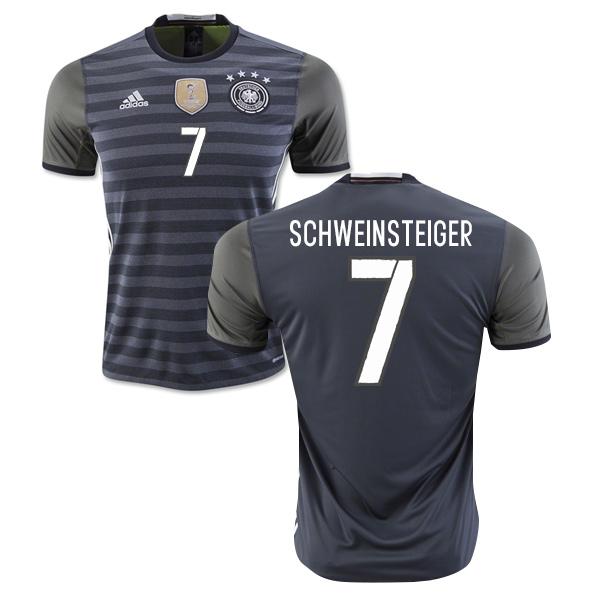 826fc9419 2016-2017 Germany Away Shirt (Schweinsteiger 7)  AA0110-70946 ...
