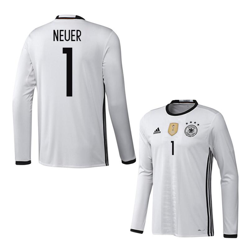 2016-2017 Germany Long Sleeve Home Shirt (Neuer 1)  AA0147-70963 ... 2dee45702
