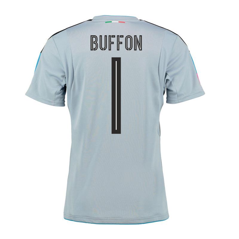40eca1ad7 2016-2017 Italy Home Goalkeeper Shirt (Buffon 1)  74900611M-72335 ...