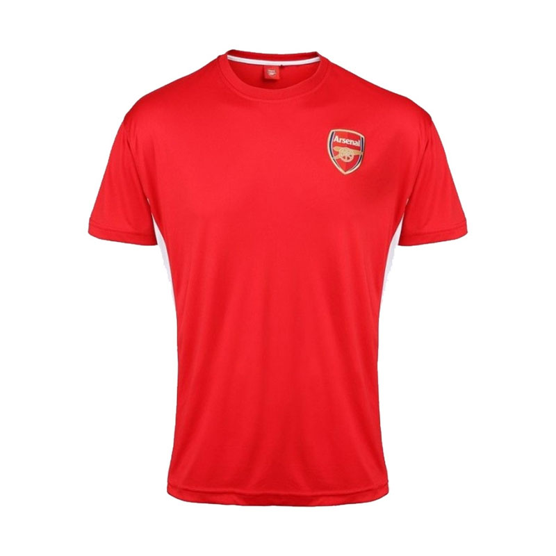 Official Arsenal Training T Shirt Red Sn3313