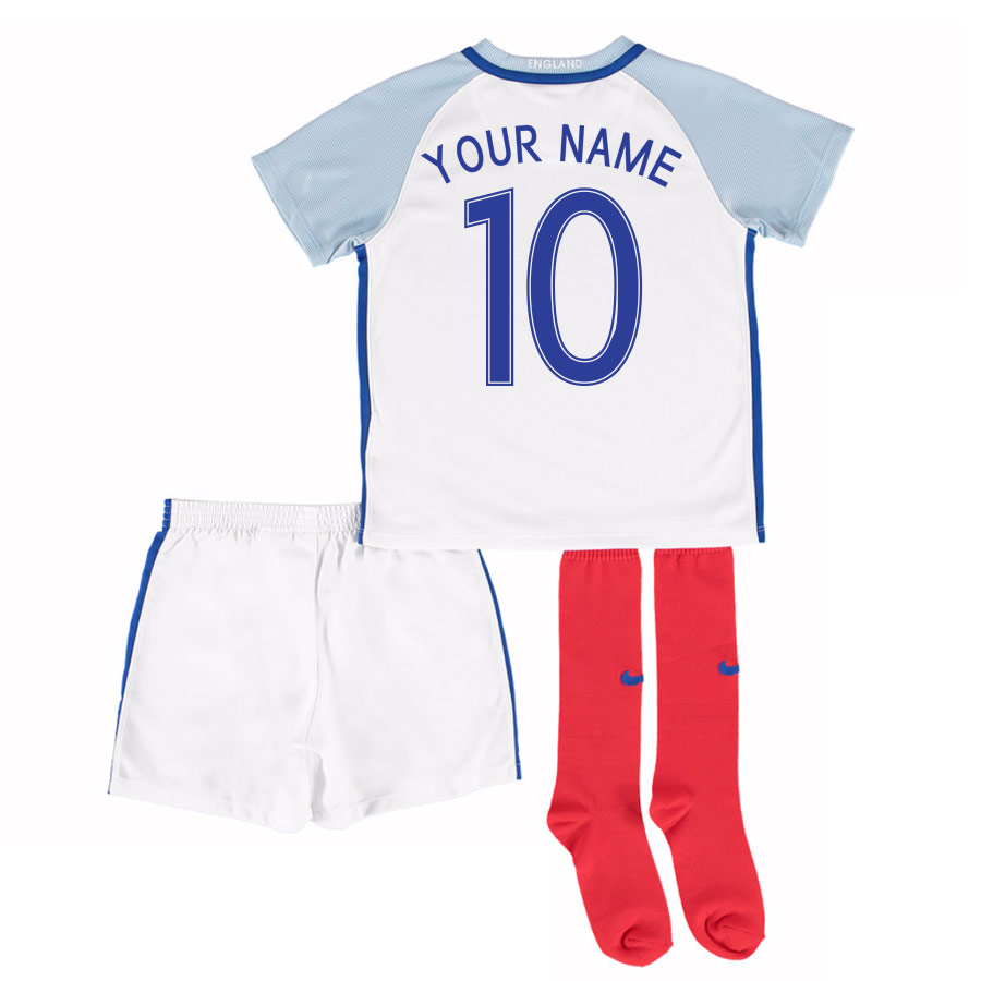 63fca82e2 England 16-17 Home Little Boys Kit (Your Name)  724576-100-74726 ...