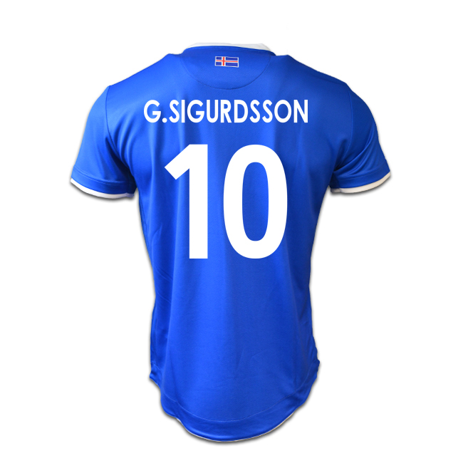 6d11b204a Iceland 16-17 Home Shirt (G.Sigurdsson 10)  SMBX6C0441990IN-74906 ...