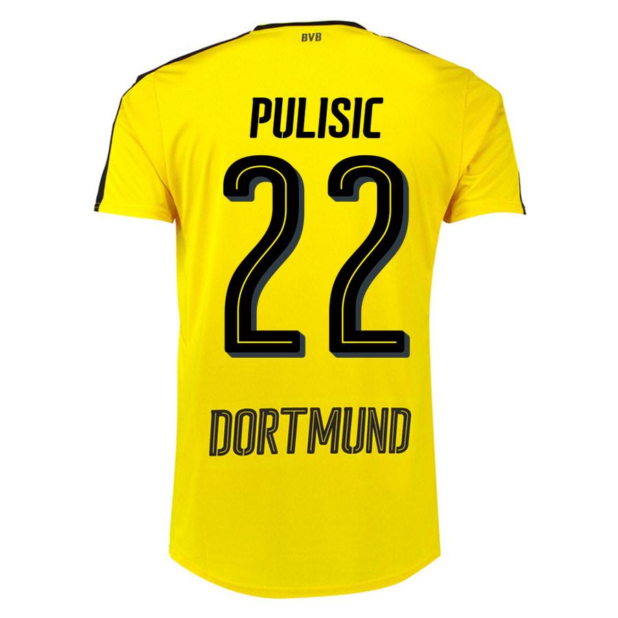 099b210de65 Borussia Dortmund 16-17 Home Shirt (Pulisic 22) - Kids [74982801-76504] -  $82.21 Teamzo.com