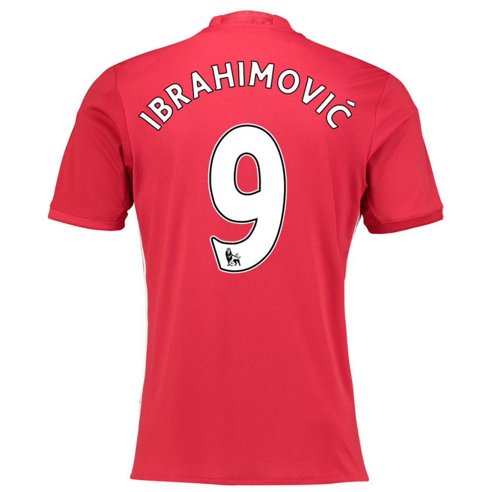 c56ddcf2831 2016-17 Manchester United Home Shirt (Ibrahimovic 9) - Kids  AI6716 ...