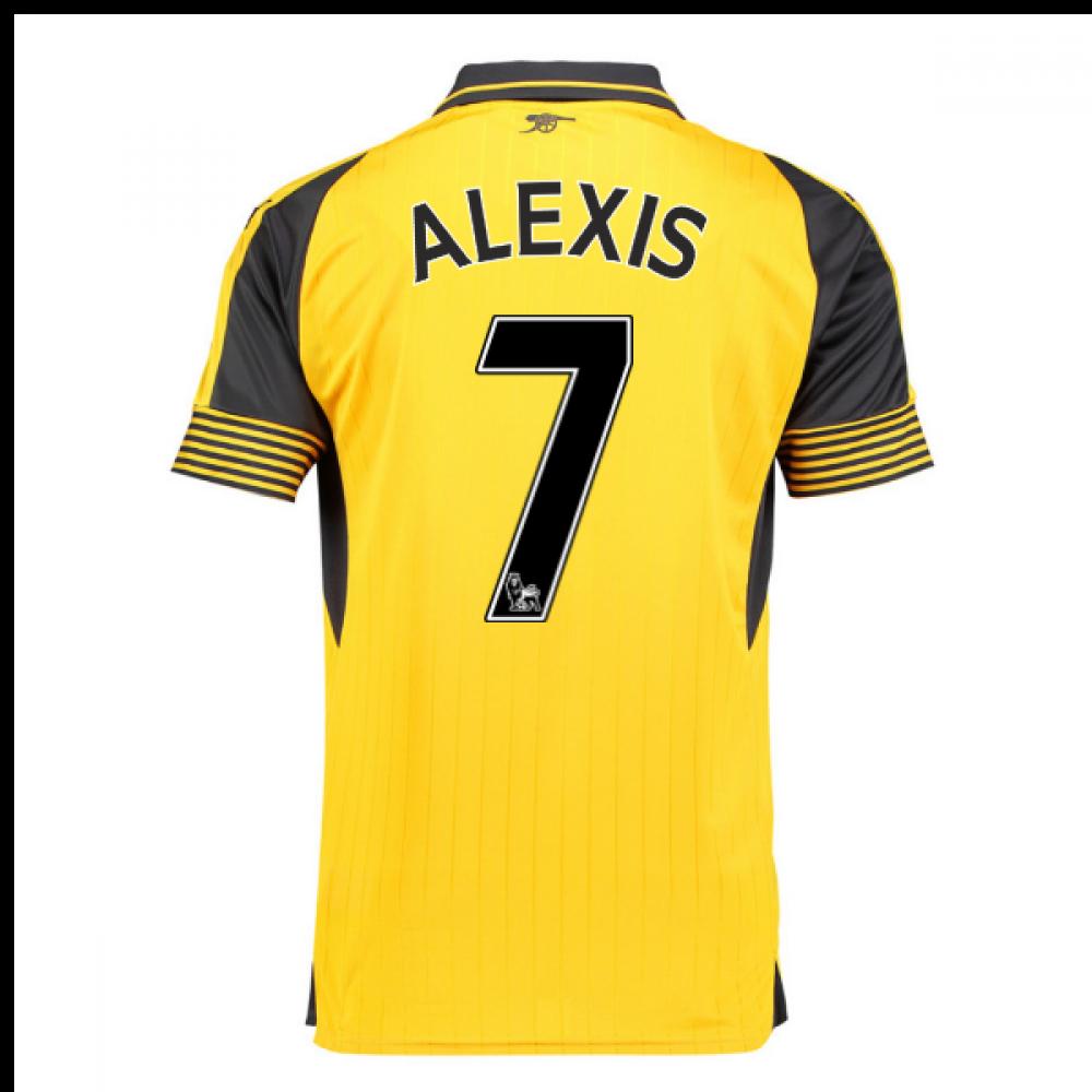 9e750f0a7 2016-17 Arsenal Away Shirt (Alexis 7) - Kids  74972103-80261 ...