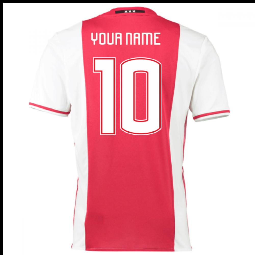 2c7b3394 2016-17 Ajax Home Shirt (Your Name) -Kids [AI6927-88241] - $57.10 Teamzo.com