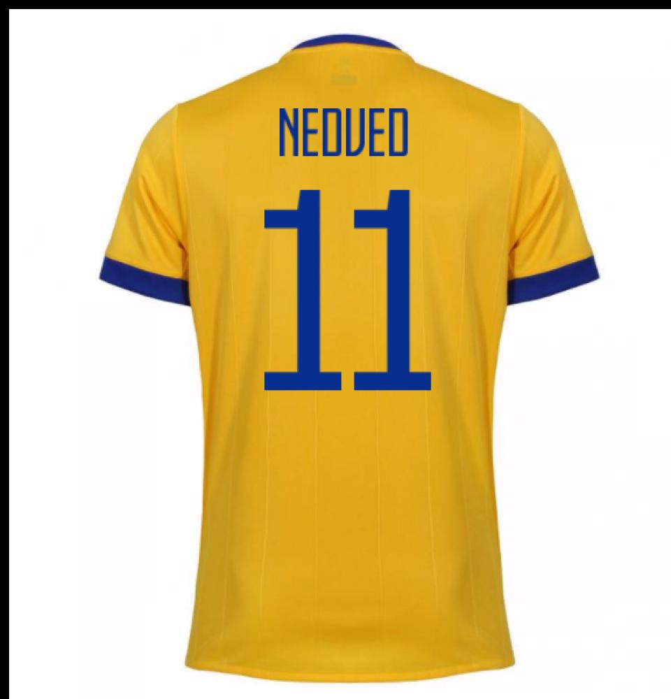 ab52ae671 2017-2018 Juventus Away Shirt (Nedved 11) - Kids  AZ8690-98706 ...