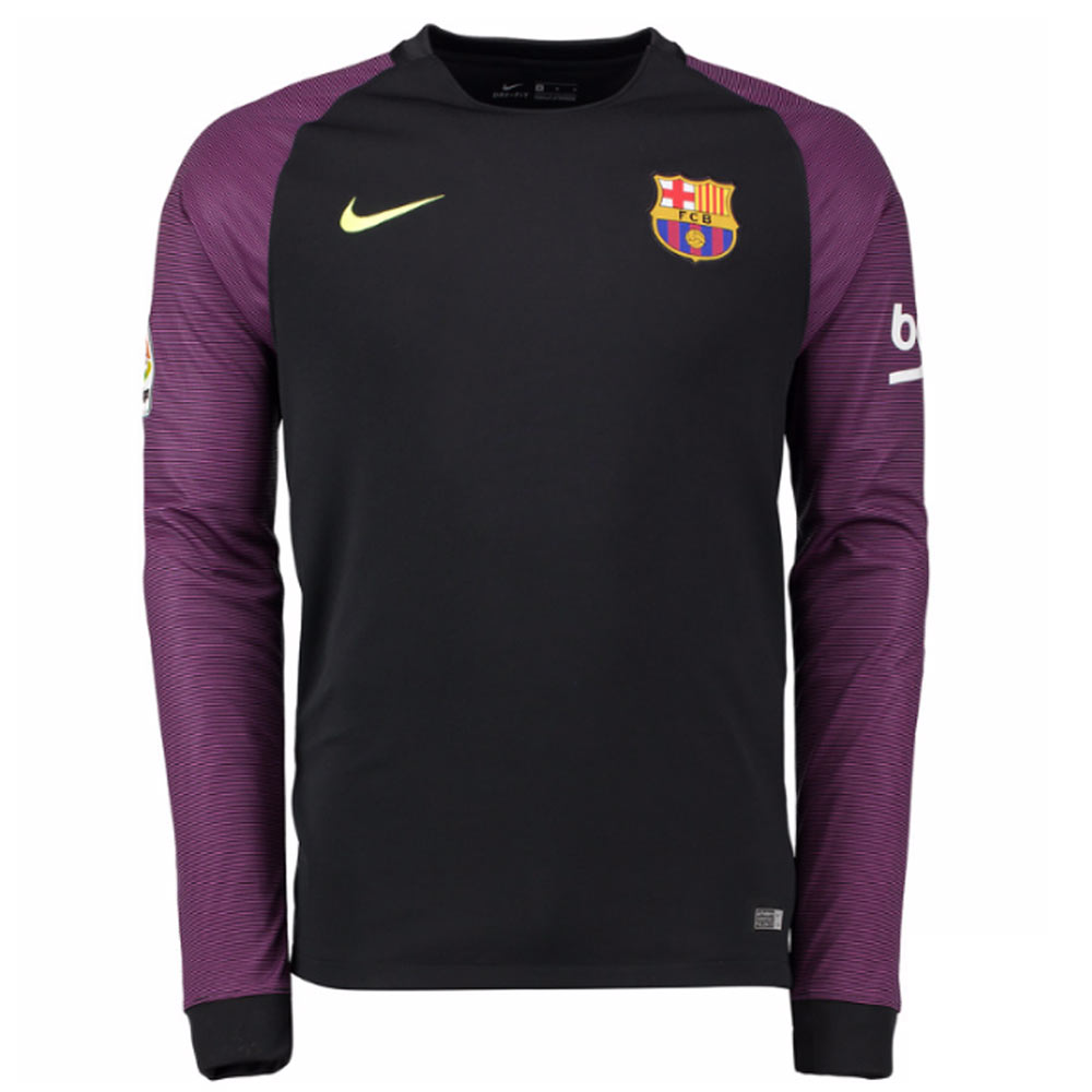 db95029ff5 Barcelona 2016-2017 Goalkeeper Shirt (Black)  776838-011  -  78.26 ...