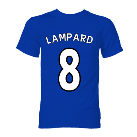 outlet store 2a5d6 ae830 Frank Lampard Chelsea Hero T-Shirt (Blue)