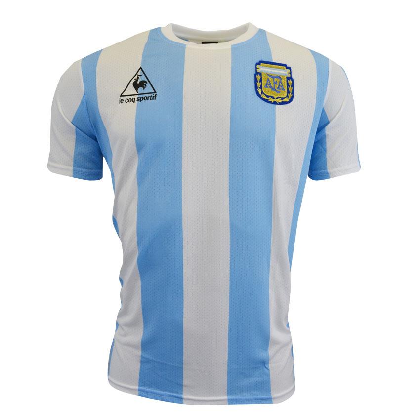 25d7ea26f76 argentina 10 diego maradona away mens long sleeves 2016 2017 country ...