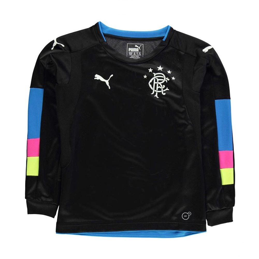 c0b755580ef Rangers 2016-2017 Puma Home GK Shirt (Black) - Kids  74991003B ...