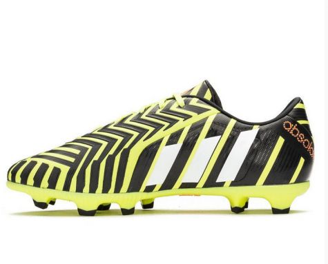 c36d6bfd0e53 ... authentic adidas predator absolado instinct fg football boots yellow  white grey 7e820 b9f6d