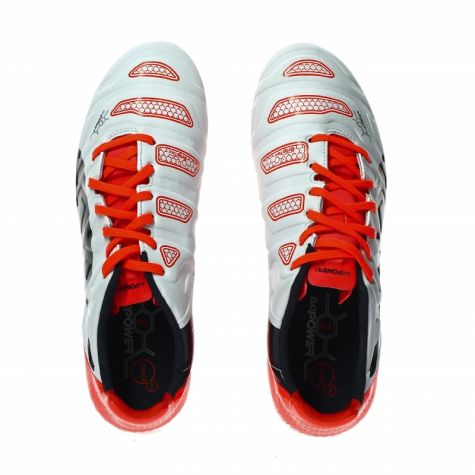 eeccac4dca6 Puma Evopower 2.2 AG Football Boots (White-Orange)  10321405 ...