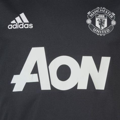ed6e00d173d Man Utd 2017-2018 Training Shirt (Night Grey) - Kids  BS4447 ...
