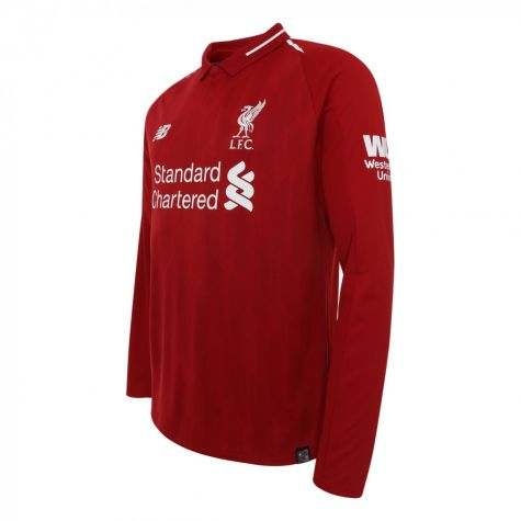 4c1bc94ea 2018-2019 Liverpool Home Long Sleeve Shirt (Your Name)  MT830009 ...