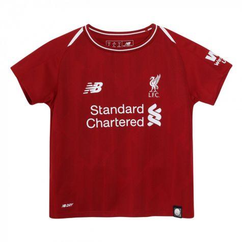 the best attitude 39e7b 028ce 2018-2019 Liverpool Home Little Boys Mini Kit (Your Name)