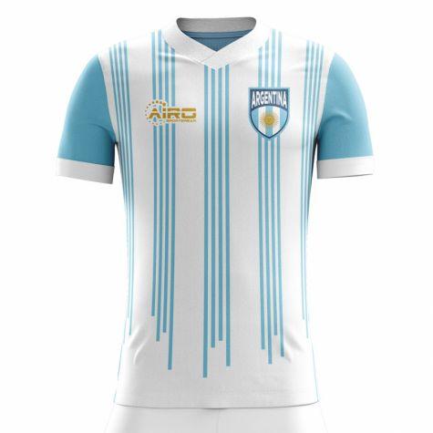 97a9a829d ... 2018-2019 Argentina Home Concept Football Shirt (Messi 10) - Kids ...