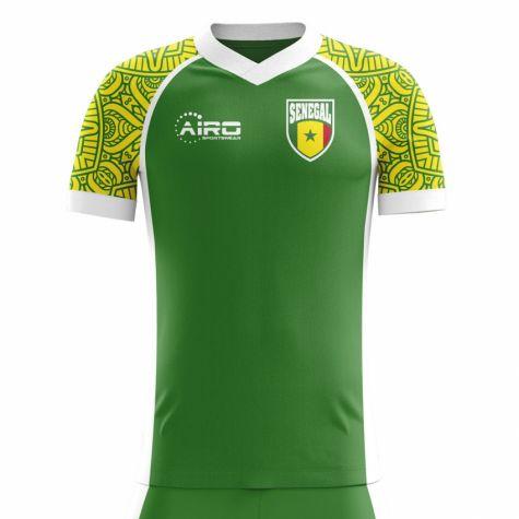 0cf26a593 ... 2018-2019 Senegal Third Concept Football Shirt (Mane 10) - Kids ...