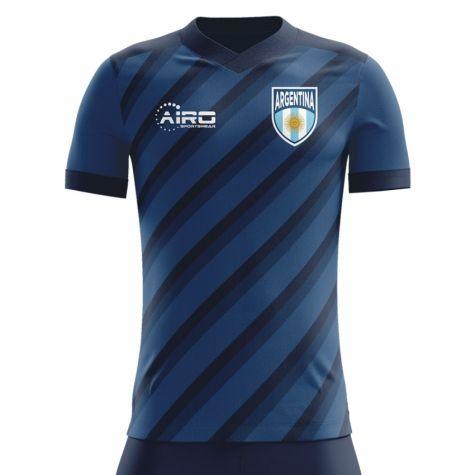 new styles fb315 015d0 2018-2019 Argentina Away Concept Football Shirt (Dybala 21) - Kids